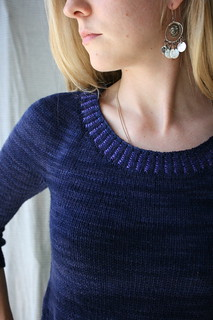 Indicum Pullover pattern by Hilary Smith Callis