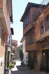 Ohrid, Macedonia () (LeszekZadlo) Tags: road street city house building heritage history home architecture town site europe unesco worldheritagesite macedonia ohrid historical balkans patrimonio fyrom  ph478