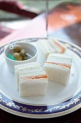 Afternoon Tea @ Rihga Royal Hotel (Long Sleeper) Tags: food japan hotel tokyo shinjuku sandwich olives pickles afternoontea dmcgf1 rihgaroyalhoteltokyo