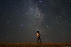 La tte dans les toiles / Thinking among the Stars (Pierre-Paul Feyte) Tags: summer sky silhouette stars solitude ciel pensive t nuit nocturne toiles milkyway gascogne gers 5017 voielacte starrysky Astrometrydotnet:status=solved nuittoile Astrometrydotnet:version=14400 Astrometrydotnet:id=alpha20120930751820