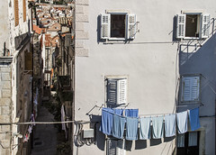 Smiling Laundry (hayden buck) Tags: old sea summer panorama beautiful harbor town seaside cityscape harbour croatia dubrovnik adriatic hrvatska kroatien
