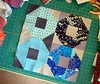 Shoo-Fly block (jaceycraft) Tags: sewing progress quiltblock shoofly lizzyhouse valoriwells joeldewberry dogoodstitches