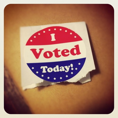 I voted! by ilovememphis, on Flickr