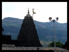 Nashik Trip - Triambakeshwar Temple (Raman_Rambo) Tags: city trip india temple indian culture lord temples shiva devotional pilgrimage shiv nasik nashik bholenath neelkanth mahadev jyotirling triambakeshwar devokedevmahadev