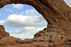 Arches National Park, Moab, UT  The Windows: North Window (imageseekertoo) Tags: utah parks national moab geological naturalarch archus archesnationalparkmoabut