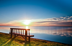 PLEASURE OF HEAVEN (Rober1000x) Tags: life longexposure sea clouds sunrise solitude state florida miami happiness 2012 deeringestate deerind