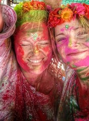 Holi Love! (Archer's Eye) Tags: india eye love hawaii holi jaipur colorfestival archerseye archerkelly uploaded:by=flickrmobile flickriosapp:filter=nofilter kellyarchers rajastanindiaarcher