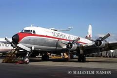 DOUGLAS DC6A/B N99330 NORTHERN AIR CARGO (shanairpic) Tags: anchorage dc6 propliner douglasdc6 c118 northernaircargo n99330
