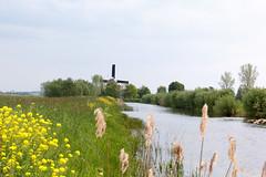 Oude Culemborgsche Vaart (RunningRalph) Tags: mill nature windmill canal nederland molen gelderland waardenburg tuil tbroek