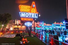 Cozy Cone Motel (Samantha Decker) Tags: california ca unitedstates disneyland anaheim dca themepark disneyscaliforniaadventure canonef1635mmf28liiusm canoneos6d carsland samanthadecker cozyconemotel socal16