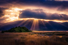 God Rays (IzTheViz) Tags: clouds sunrise greece prespa epirus prespes sonya7r