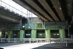 nagoya15279 (tanayan) Tags: road street bridge urban japan town alley nikon cityscape under railway nagoya   aichi j1