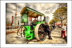 STEAM TRACTOR (Derek Hyamson) Tags: tractor liverpool candid steam hdr albertdock