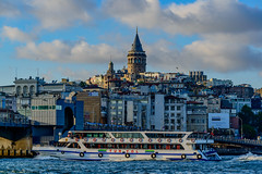 Galata Tower - Istanbul (Aleem Yousaf) Tags: tower turkey photo nikon walk istanbul bosphorus d800 galata 70200mm kulesi