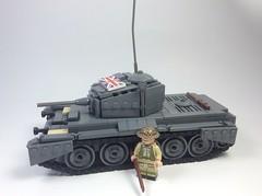 British Cromwell (mjbricks(flose master)) Tags: tank lego german ww2 vehicle british cromwell panzer brickarms citizenbrick