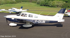 F-GVJM  PA28 Fife June 2016 (pmccann54) Tags: glenrothes piperpa28 fiferegionalairport fgvjm