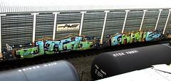 jigl - grave (timetomakethepasta) Tags: railroad grave train graffiti providence freight ld worcester pw autorack jigl