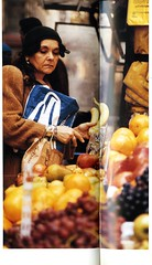 Fruit Stand near Hunter College (Hunter College Archives) Tags: newyorkcity newyork 1996 yearbook hunter fruitstand cityofnewyork huntercollege hunterwest wistarion thewistarion surroundingcommunity