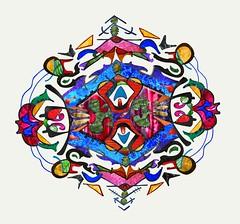 Factoleur (Alexandre Poulin-Giroux) Tags: abstract art fleur couleurs cellular moderne form psychedelic visual alexandre color harmonie vives contemporain psychologie bionique chimique psychique poulingiroux alepogi