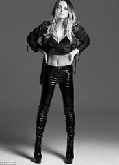 Sam Faiers in vinyl pants (Plastic Fashion Queens) Tags: fashion model sam pants vinyl plastic trousers pvc faiers