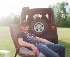 Country Blood (Ektar 100) (Nick Spadaro) Tags: portrait color 120 film jeep pentax saratoga medium format 100 67 ektar