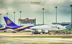 Thai Airways : HS-TGX Boeing 747 (Kan_Rattaphol) Tags: thaiairways thaiairwaysinternational boeing b747 b7474d7 hstgx bkk vtbs suvarnabhumiinternationalairport suvarnabhumiairport airplane aircraft airliner