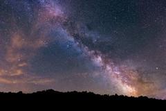 Voie_Lactee (Justin.S.) Tags: night way star flickr space milky nuit etoile espace voie facebook lacte publiee instagram