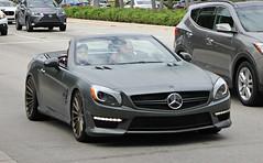 Mercedes-Benz SL63 AMG (R231) (RudeDude2140a) Tags: black sports car convertible exotic mercedesbenz matte amg sl63 r231