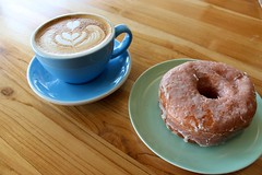 KUPPI COFFEE COMPANY (shinya) Tags: coffee newjersey cafe dough doughnut late edgewater