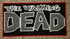 The Walking Dead Sign 3 (Crafty Guy) Tags: show pets white black television sign walking logo dead diy tv blood comic pattern crafts text rick canvas plastic comicbook undead bloody alpha zombies creatures comiccon walkers issues survival the corpses compendium flesheaters grimes artscrafts reanimated plasticcanvas thegovernor thewalkingdead michonne roamers negan walkerstalker