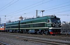 DF10F-2002  Peking  18.03.99 (w. + h. brutzer) Tags: china analog train nikon eisenbahn railway zug trains locomotive peking lokomotive diesellok eisenbahnen dieselloks webru df10f