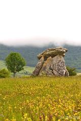 Dolmen ((C)JJMB) Tags: paisajes monument spain monumento paisaje euskadi sepultura dolmen álava dólmen megalítico arrizala