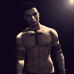 In The Light (Toxic Snow) Tags: life black art photography back 3d alone ground sl second