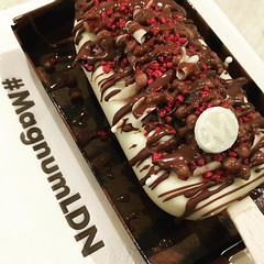 Mmmmmmm #magnumLDN #magnum #icecream #summer
