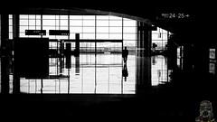 image (rzever) Tags: 风景 黑白 广州 艺术 摄影 铁路 创作 南站 高铁