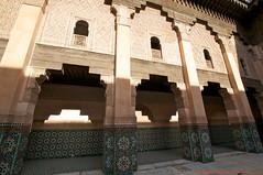 La Medersa Ben Youssef (l'apple-cafe) Tags: nikon islam maroc atlas marrakech hdr highdynamicrange cole koutoubia afrique mosque musulman medersa d90 medersabenyoussef benyoussef djemaelfna nikond90 mosquekoutoubia arabomusulman placedjemaelfna laplacedjemaelfna mosquebenyoussef lamedersabenyoussef