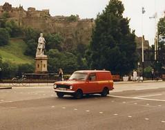 BEDFORD HA VAN BRITISH TELECOM GPO ENGINEERING EDINBURGH 1990 (rsturbo102255) Tags: bedford edinburgh historic british ha van gpo telecom
