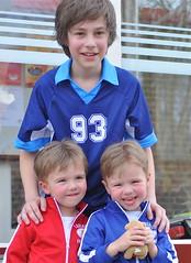 De trouwste fans van Niek Kuipers. (foto Henk H.)