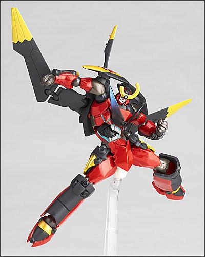 海洋堂山口式可動Revoltech No.119 天元突破Gurren Wing Ver.