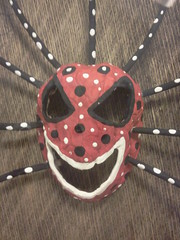 vejigante mask (tanil vaner mask collection) Tags: mask puertorico collection fright vejigante tanil vaner themoors tanios vejigantemasks