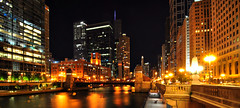 City Glow (Seth Oliver Photographic Art) Tags: nightphotography chicago buildings reflections landscapes iso200 illinois nikon midwest skyscrapers cities cityscapes nightshots trumptower chicagoriver marinatowers pinoy cityatnight nightscapes chicagoskyline urbanscapes secondcity rivernorth windycity longexposures chicagoist d90 nightexposures wetreflections 8secondexposure cityofbigshoulders aperturef90 manualmodeexposure setholiver1 circularpolarizers tripodmountedshot 1024mmtamronuwalens timedelaytriggeredshot 16x9panocrop