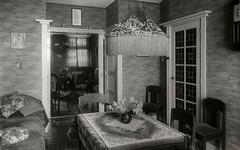 woonkamer nieuw huis Dierensche laan  den Haag 1933