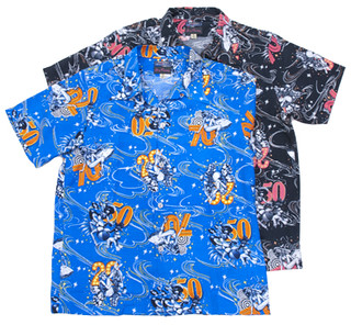 Rockin'Jelly Bean × DRYBONES 20s, 50s, 70s夏威夷衫