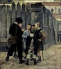 Bashkirtseff, Maria (1858-1884) - 1884 A Meeting (Musee d'Orsay, Paris, France) (RasMarley) Tags: female children group 19thcentury streetscene painter groupportrait museedorsay 1884 1880s ukranian ameeting bashkirtseff mariabashkirtseff