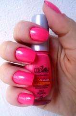 .Rosa Tropical - Colorama (AnaC Muller) Tags: unhas esmaltes colorama
