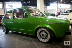"""Green VW Golf mk1 • <a style=""""font-size:0.8em;"""" href=""""http://www.flickr.com/photos/54523206@N03/7039047795/"""" target=""""_blank"""">View on Flickr</a>"""