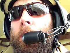 Self Portrait; Doors Off. (chapstick32) Tags: flying helmet helicopter swamp dork nationalwildliferefuge nwr greatdismalswamp fishwildlifeservice lakedrummond doorsoff