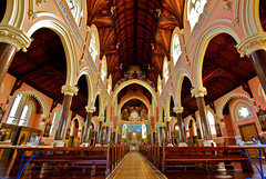 St Mary's of the sea Catholic Church (David Williamson Photography) Tags: windows building church glass stain stone architecture murals pew alter melbournechurch stmarysoftheseacatholicchurch glassglasswindows