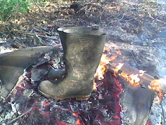 Afb019 (tommy_buffalo) Tags: burning wellies