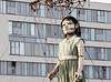 "Royal De Luxe. ""Sea Odyssey"", giant girl street theater. Liverpool (Ianmoran1970) Tags: sleeping girl liverpool giant large streettheater royaldeluxe ianmoran seaodyssey ianmoran1970 giantspectacular"